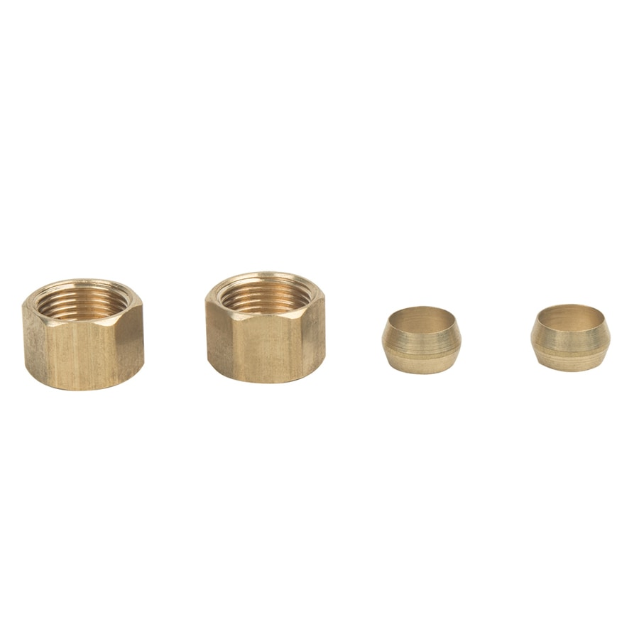 BrassCraft 2-Pack 3/8-in Compression Coupling Adapter Fittings