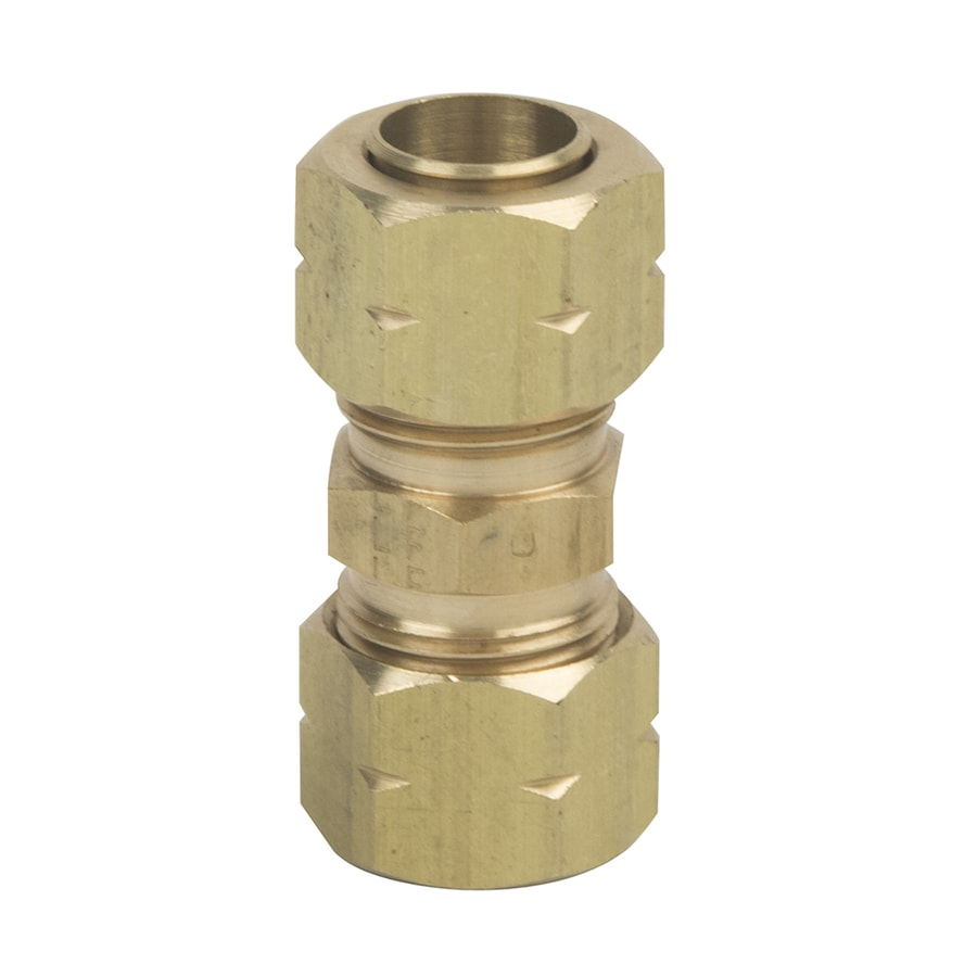 BrassCraft 3/8-in x 3/8-in Compression Compression Coupling Coupling Fitting