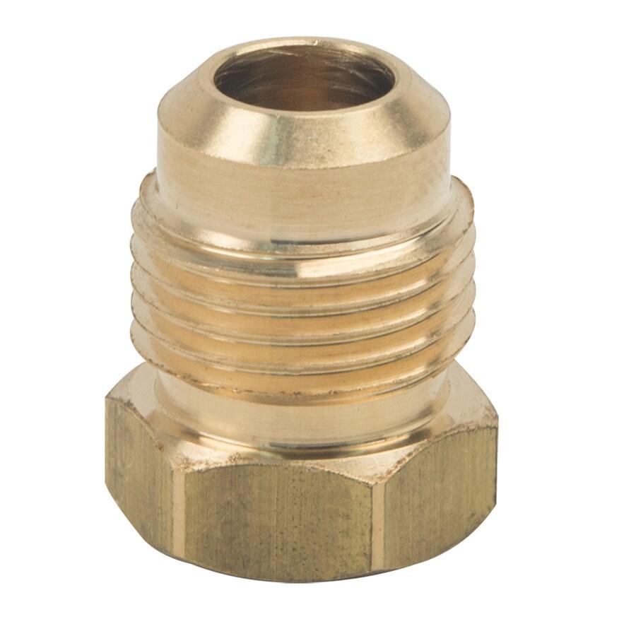 BrassCraft 3/8-in Threaded Adapter Plug Fitting