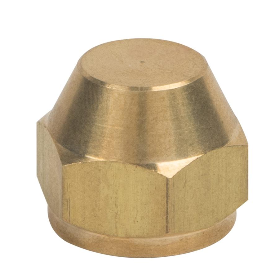 BrassCraft 3/8-in Threaded Cap Fitting