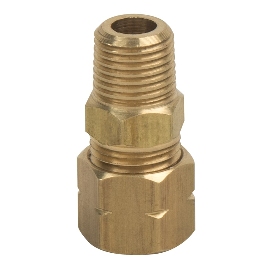 BrassCraft 1/4-in x 1/8-in Compression Compression x MIP Adapter Adapter Fitting