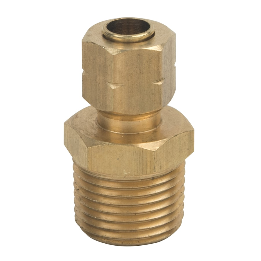 BrassCraft 1/4-in x 3/8-in Compression Compression x MIP Adapter Adapter Fitting