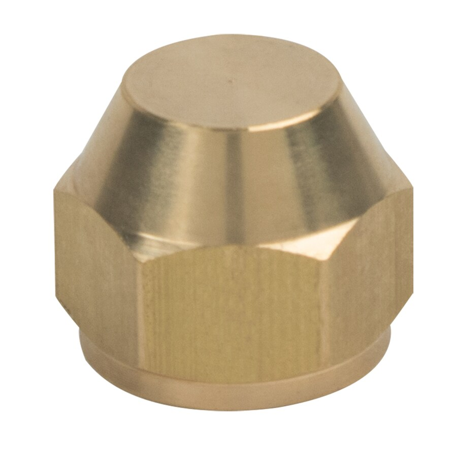 BrassCraft 1/2-in Threaded Cap Fitting
