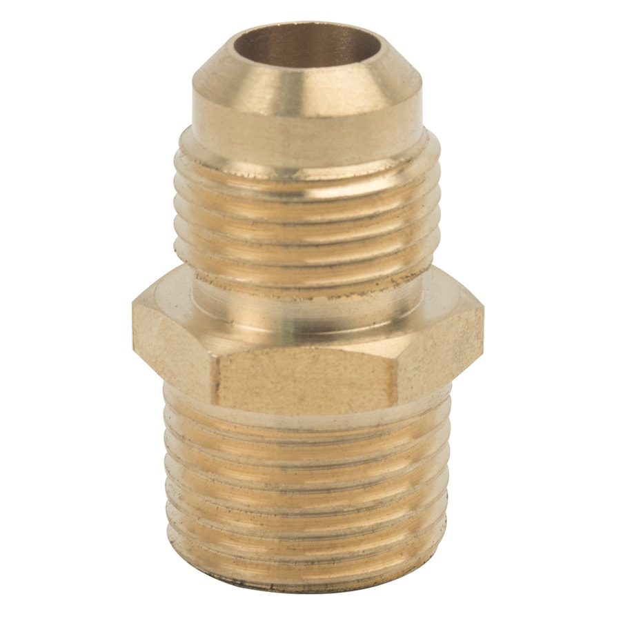 BrassCraft 1/2-in x 1/2-in Threaded Flare x MIP Adapter Adapter Fitting