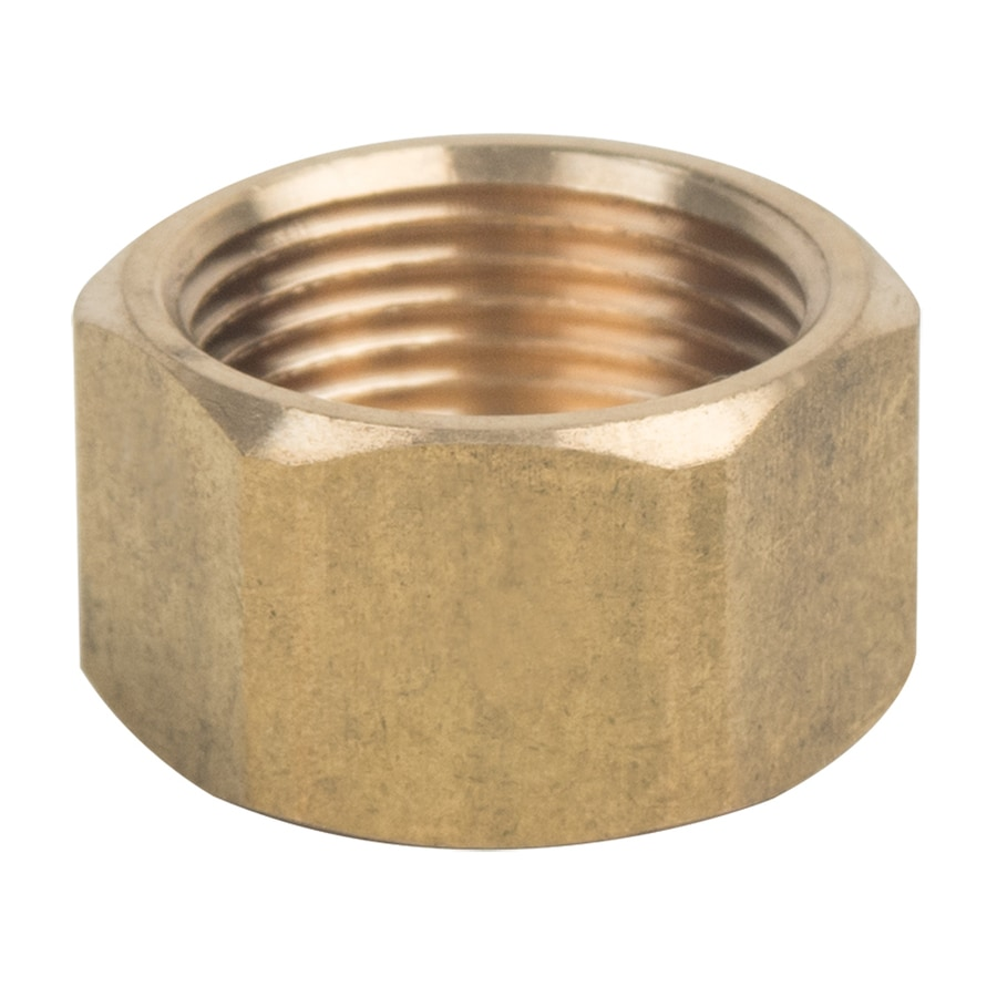 Shop brasscraft in compression cap fitting at lowes
