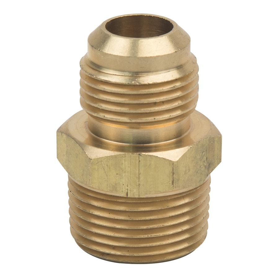 BrassCraft 5/8-in x 3/4-in Threaded Flare x MIP Adapter Adapter Fitting