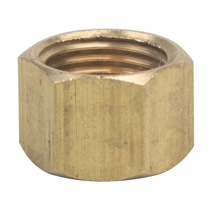 BrassCraft 1/4-in Compression Cap Fitting