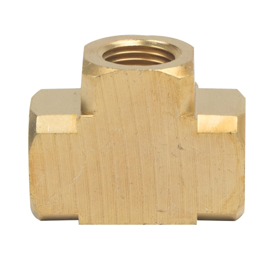 BrassCraft 1/8-in x 1/8-in x 1/8-in Threaded Tee Tee Fitting