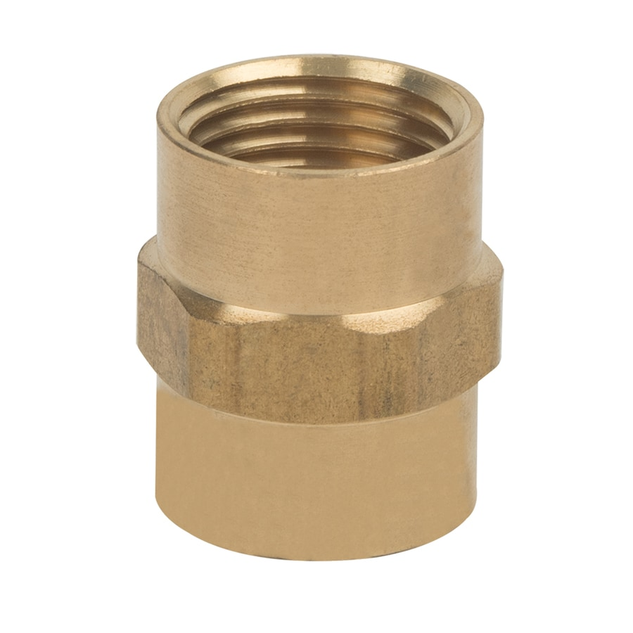 BrassCraft 1/2-in x 1/2-in Threaded Female Adapter Coupling Fitting