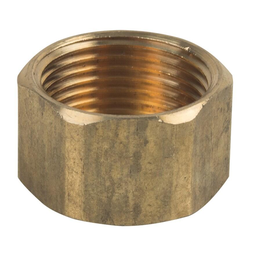 BrassCraft 3/4-in Threaded Cap Fitting