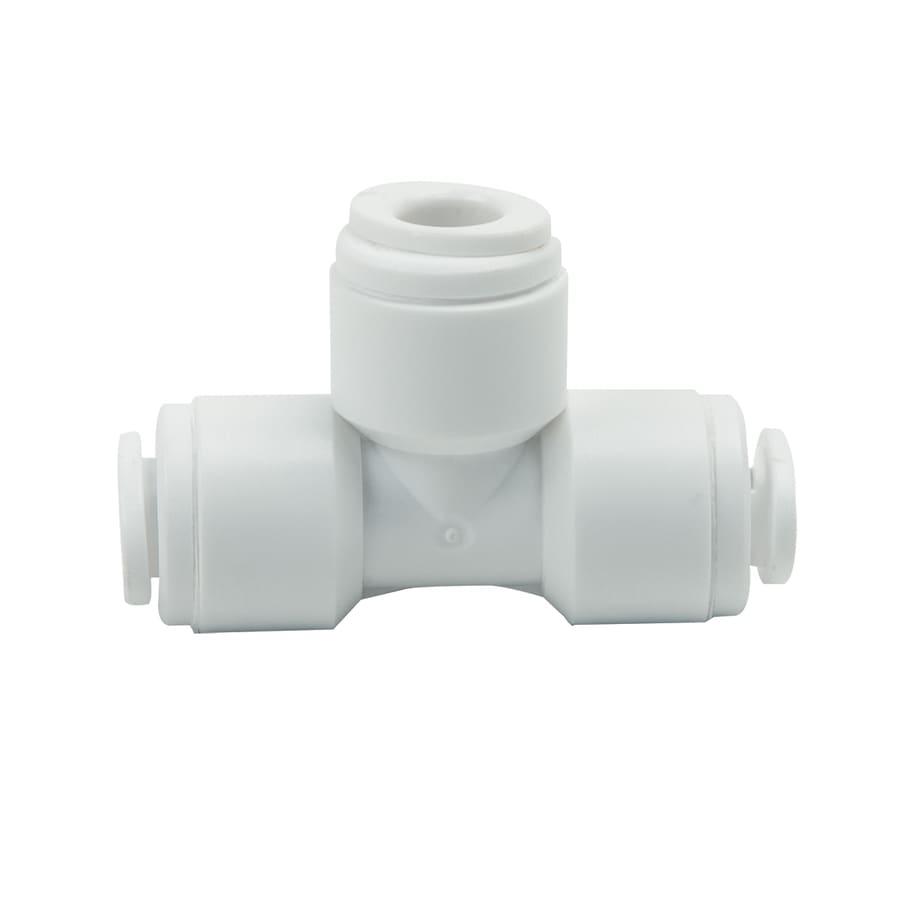 BrassCraft 1/4-in x 1/4-in dia Standard Tee Push Fitting