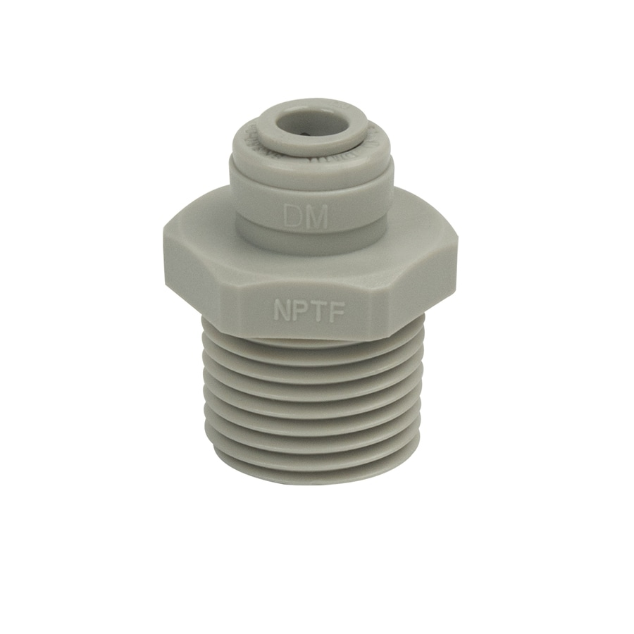 BrassCraft 1/4-in Compression/Push x 1/2-in Male Adapter Push Fitting