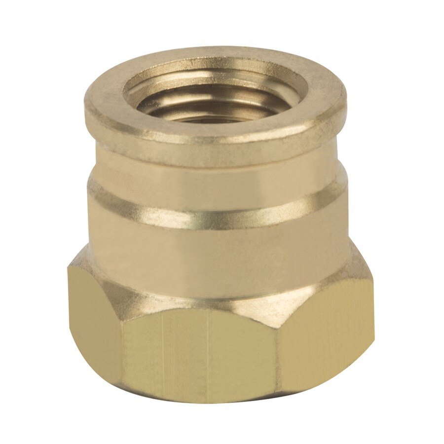 BrassCraft 3/8-in x 1/4-in Threaded Reducing Union Coupling Fitting