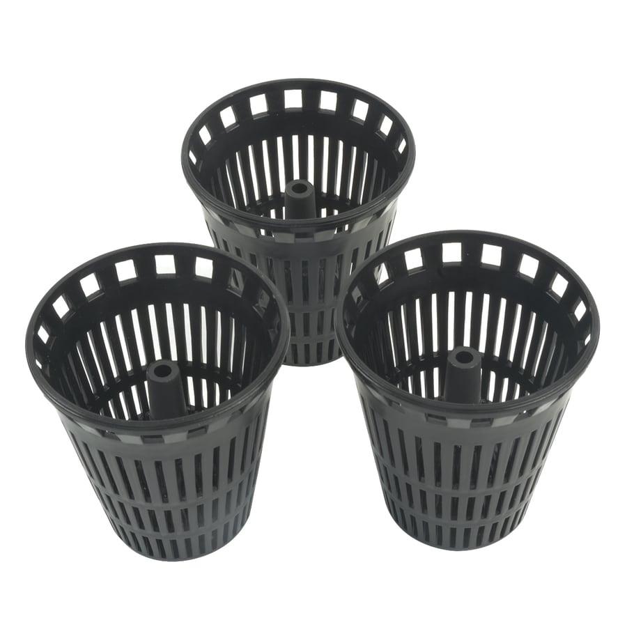 BrassCraft 3-Pack Black Plastic Drain Covers