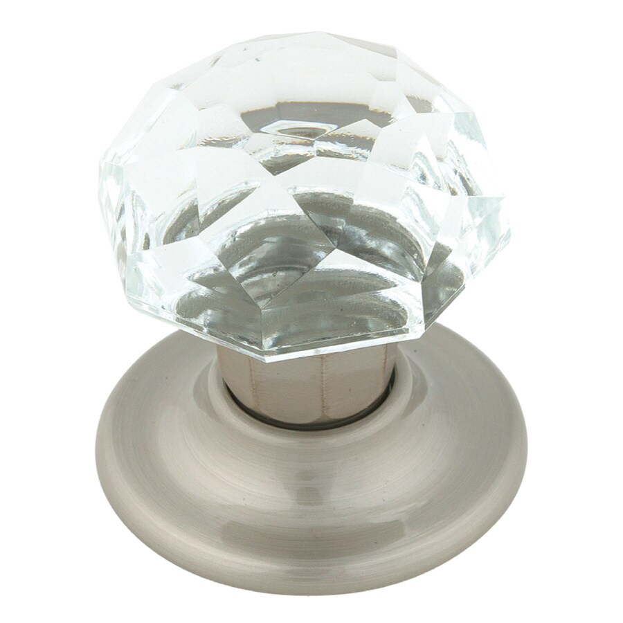 Shop Amerock Allison Value Satin Nickel Round Cabinet Knob