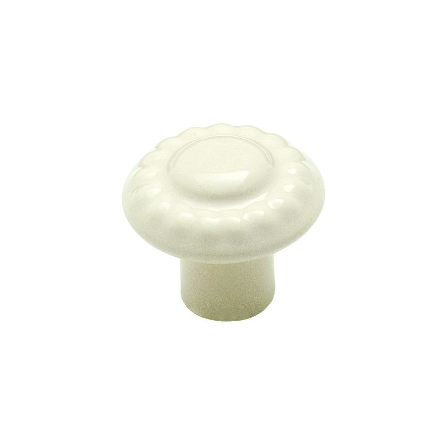 Amerock Colour Washed Ceramics Almond Round Cabinet Knob