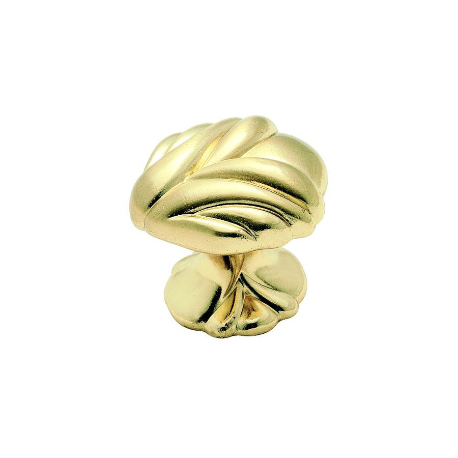 Amerock Expressions Brushed Brass Round Cabinet Knob