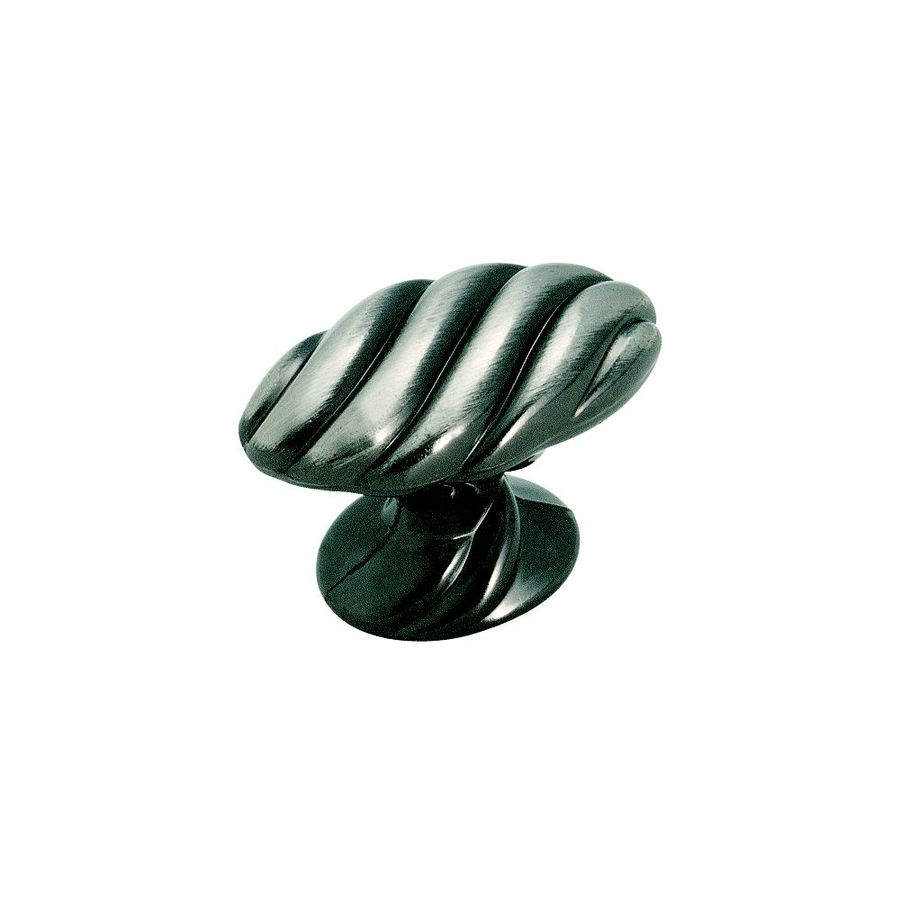 Amerock Expressions Pewter Oval Cabinet Knob