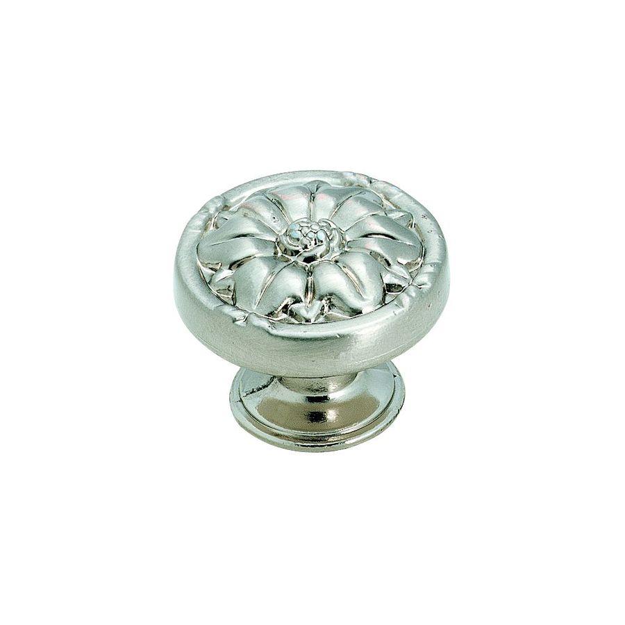 Amerock Natural Elegance Sterling Nickel Round Cabinet Knob