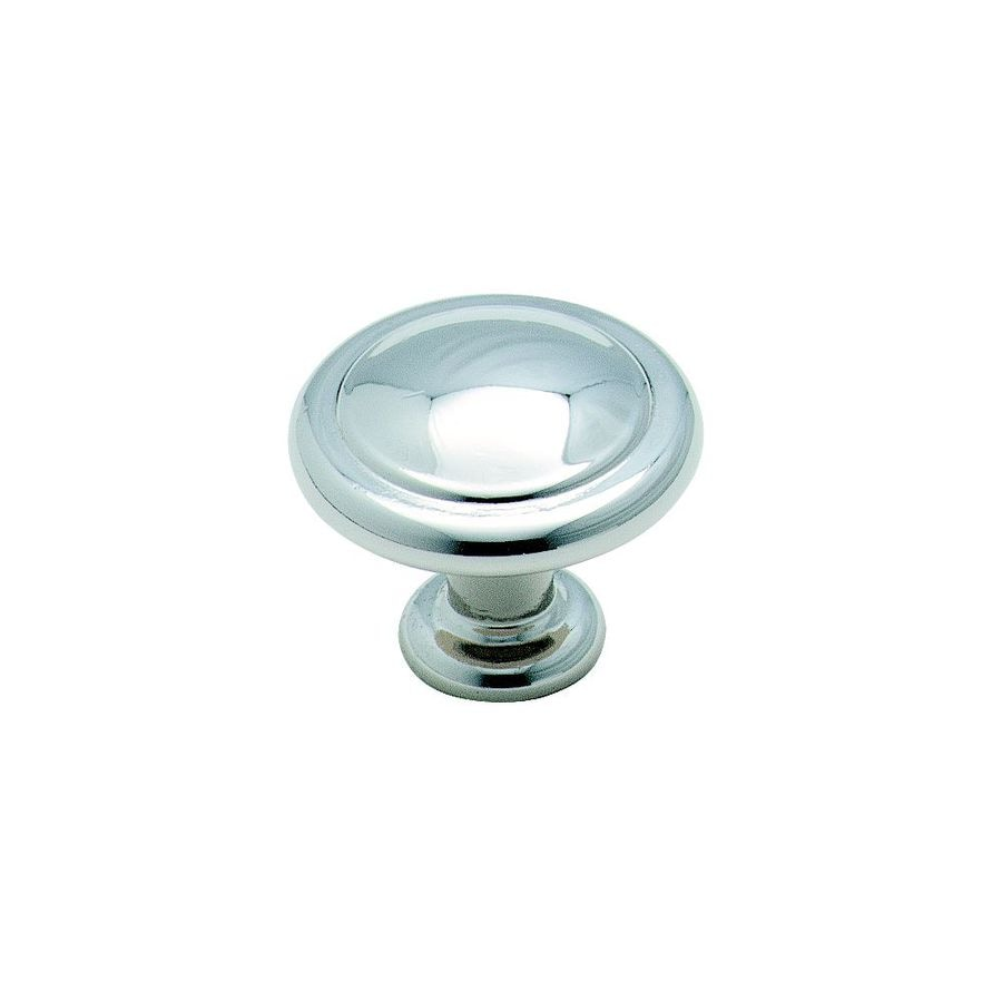 Amerock Reflections Polished Chrome Round Cabinet Knob