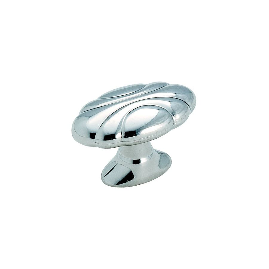 Amerock Radiance Polished Chrome Oval Cabinet Knob