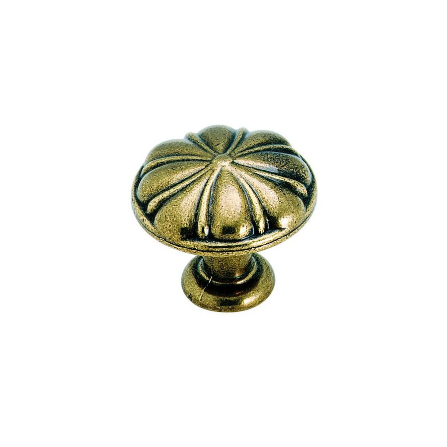 Amerock Radiance Regency Brass Round Cabinet Knob