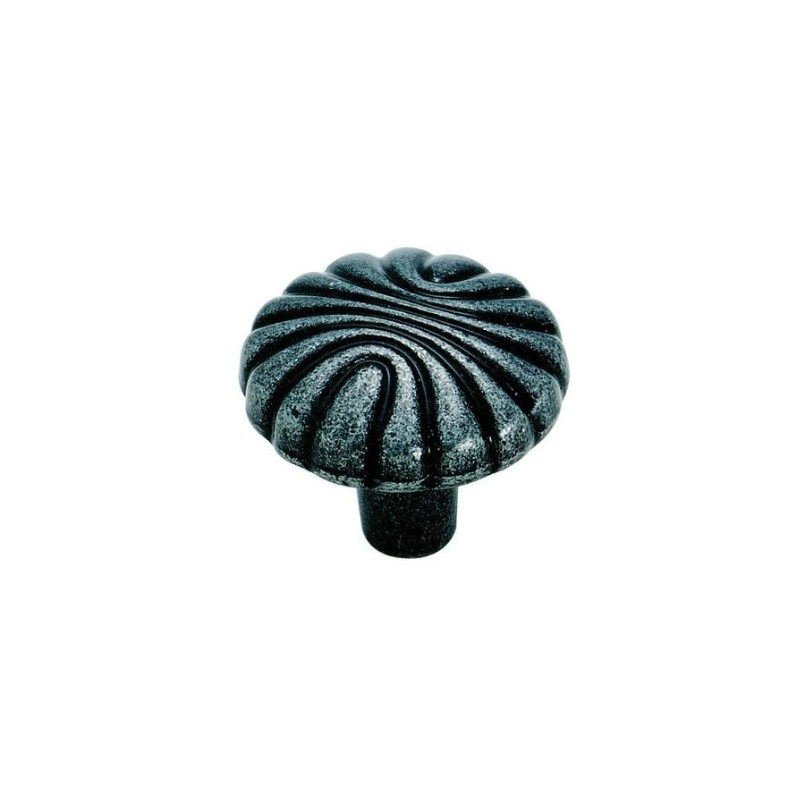 Amerock Natural Elegance Wrought Iron Round Cabinet Knob