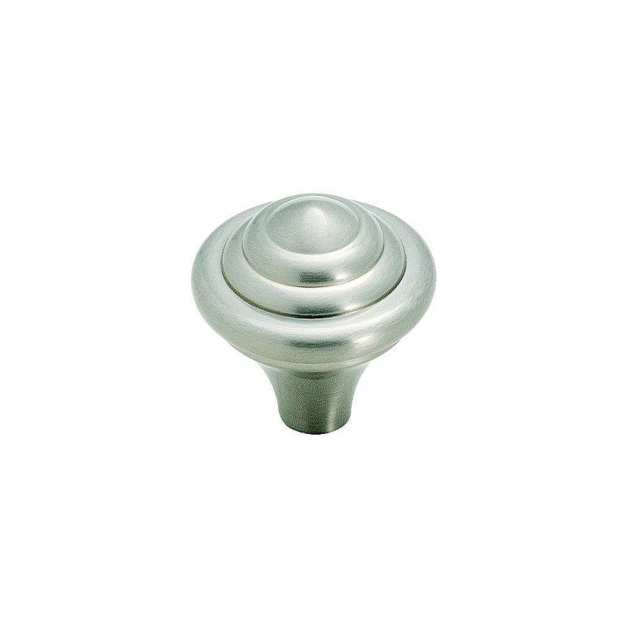 Amerock Abstractions Satin Nickel Round Cabinet Knob