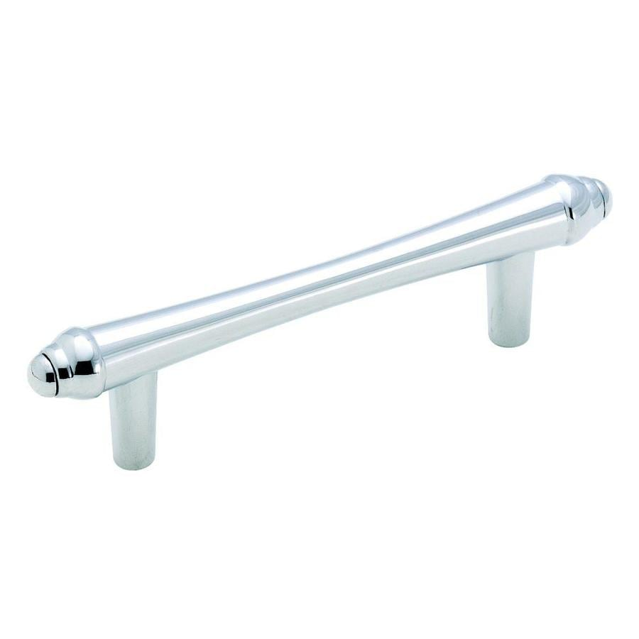Amerock 3-in Center-To-Center Polished Chrome Abstractions Bar Cabinet Pull