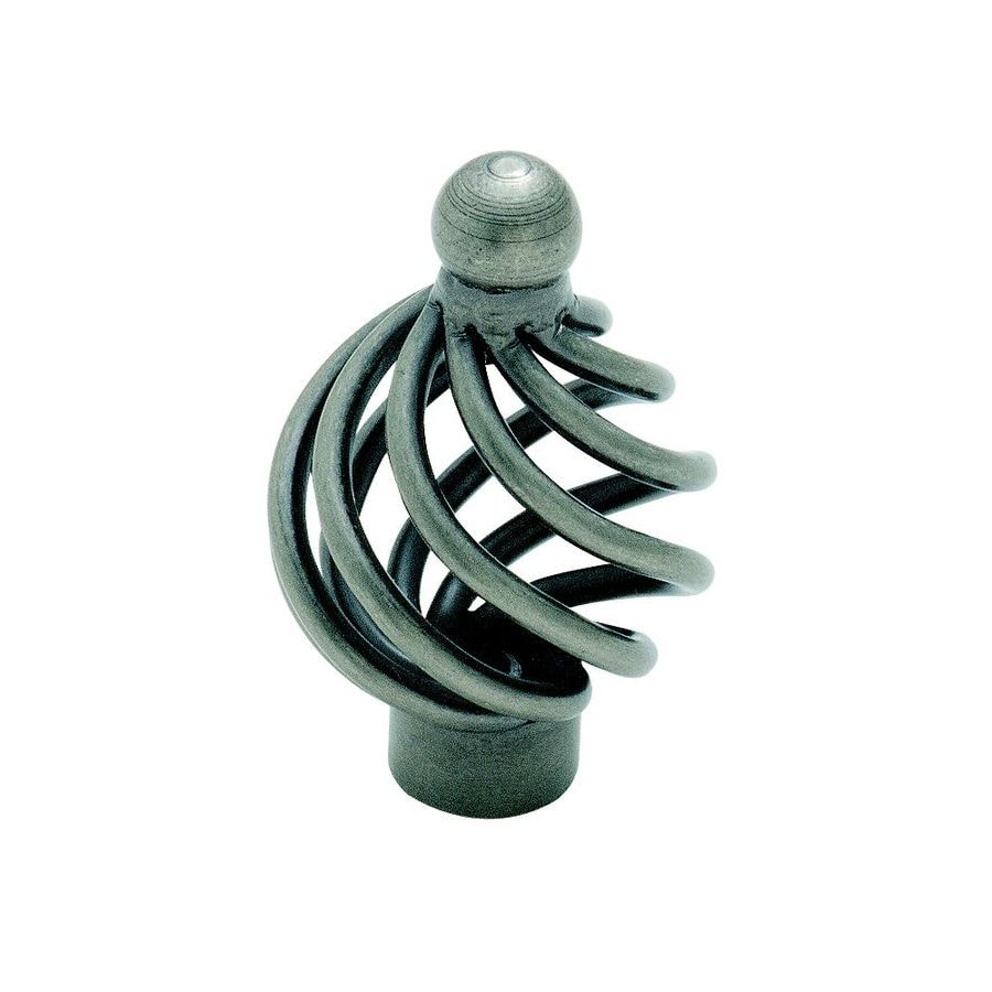Amerock Village Classics Weathered Nickel Round Cabinet Knob