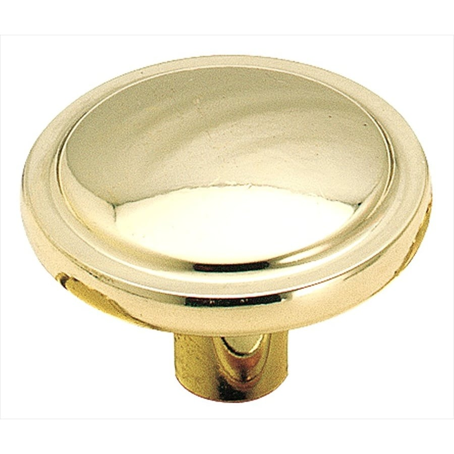 Amerock Allison Polished Brass Round Cabinet Knob