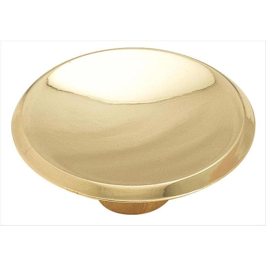 Amerock Allison Value Polished Brass Oval Cabinet Knob At