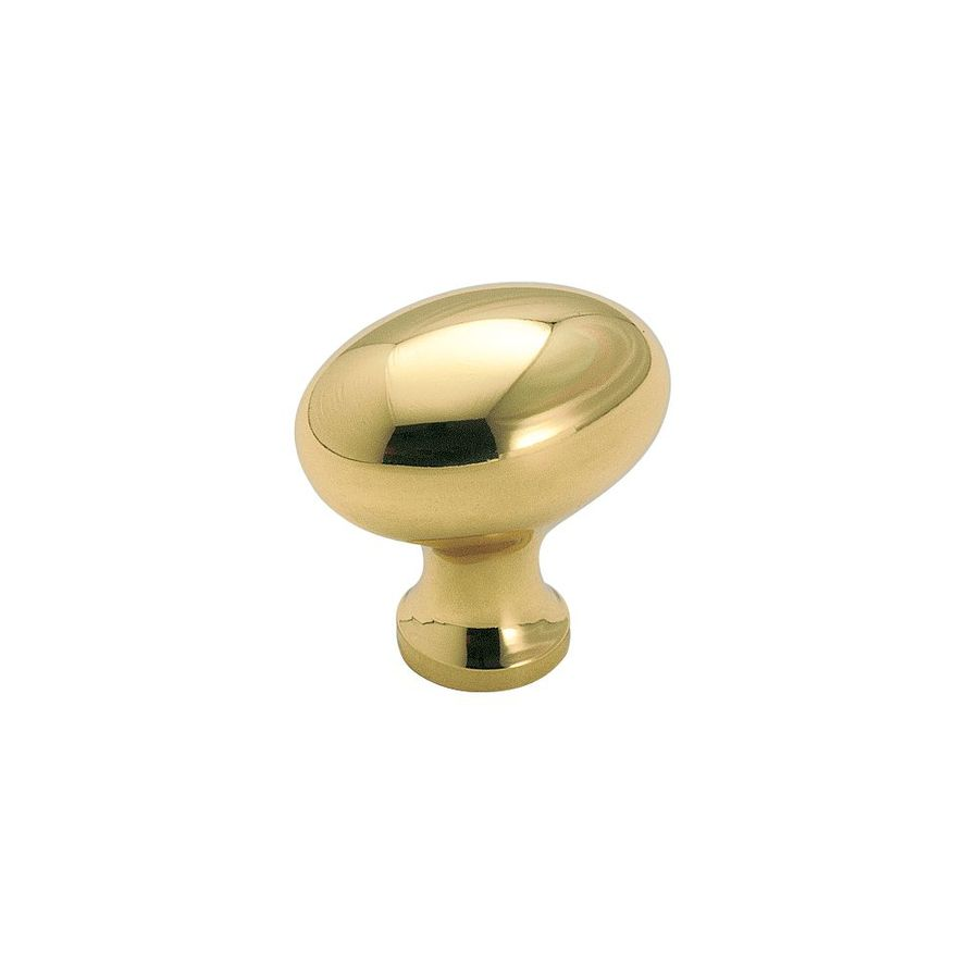 Amerock Allison Polished Brass Oval Cabinet Knob