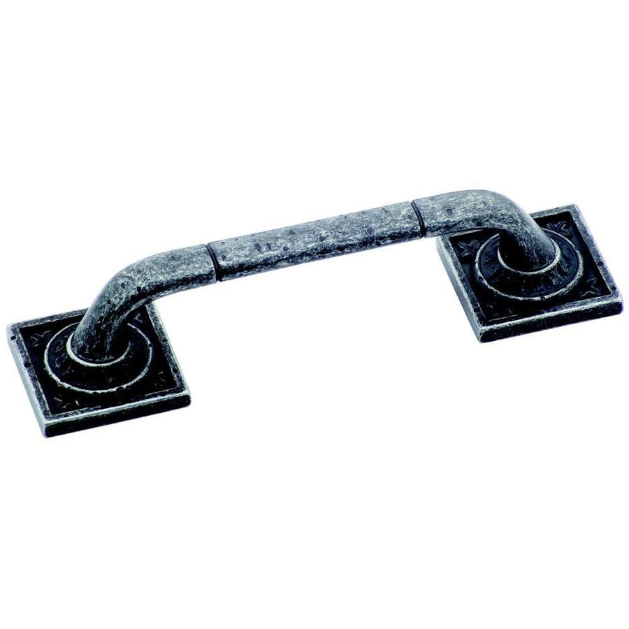 Amerock 96mm Center-To-Center WroughtIron Dark Ambrosia Bar Cabinet Pull