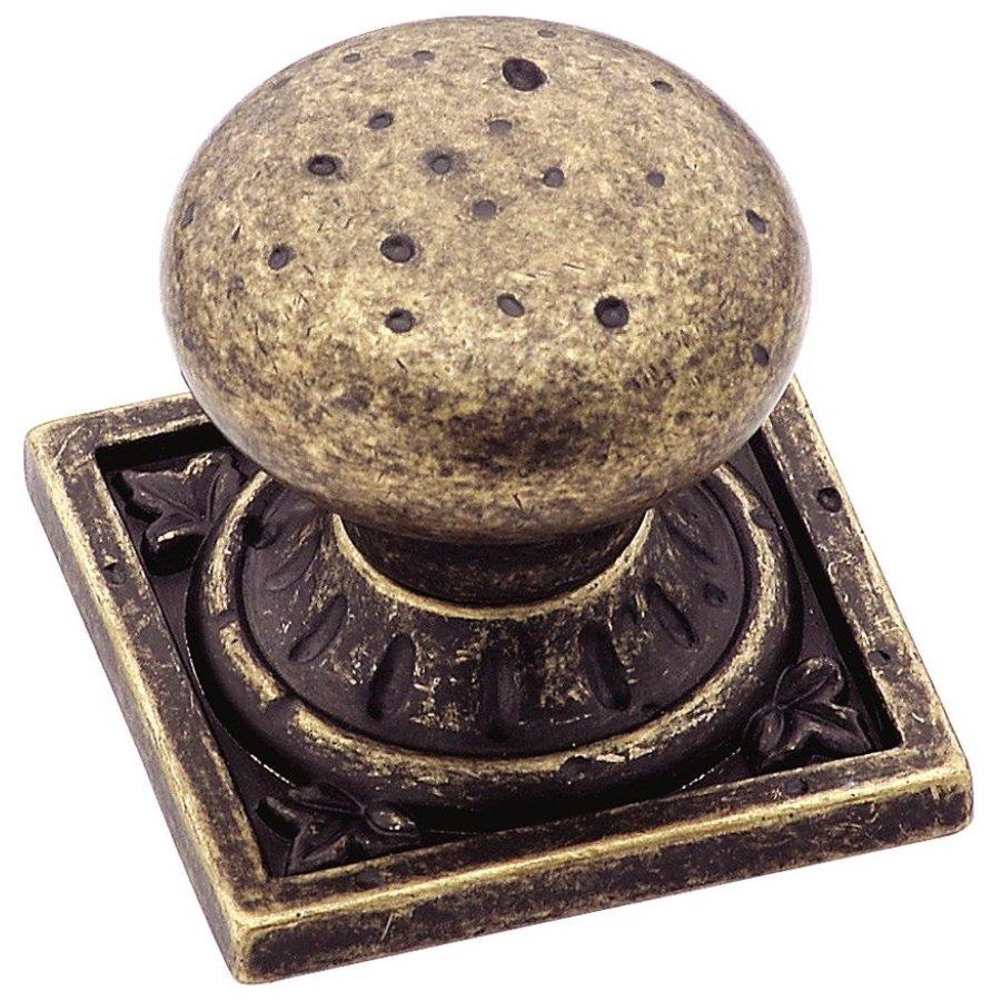Amerock Ambrosia Weathered Brass Round Cabinet Knob