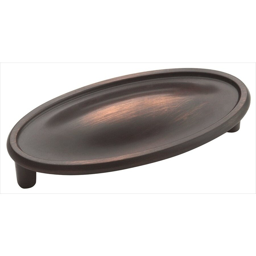 Amerock 3-in Center-To-Center Oil-Rubbed Bronze Manor Bar Cabinet Pull