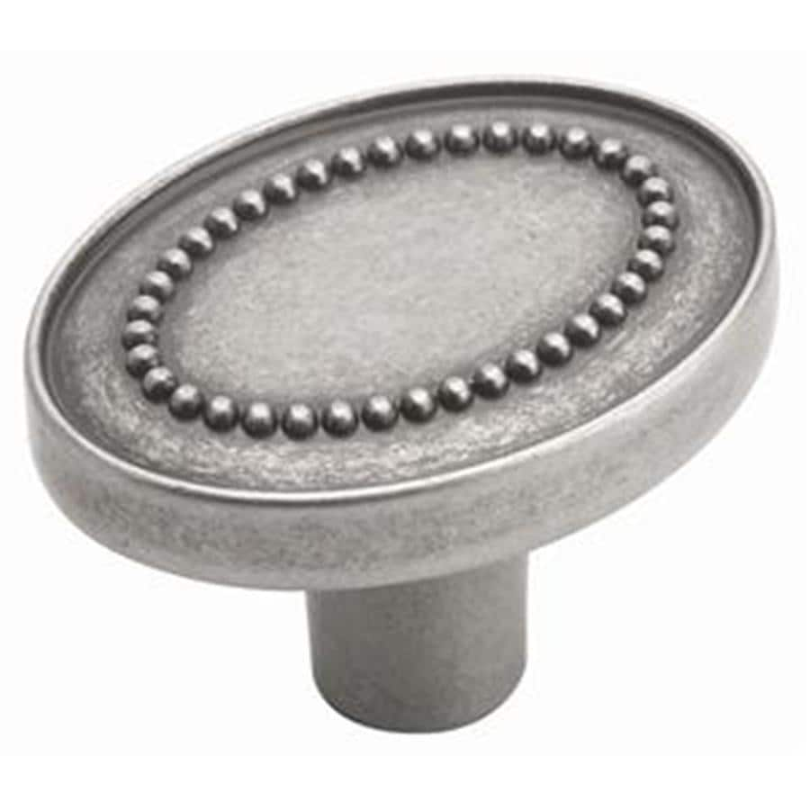 Amerock Opulence Weathered Nickel Oval Cabinet Knob