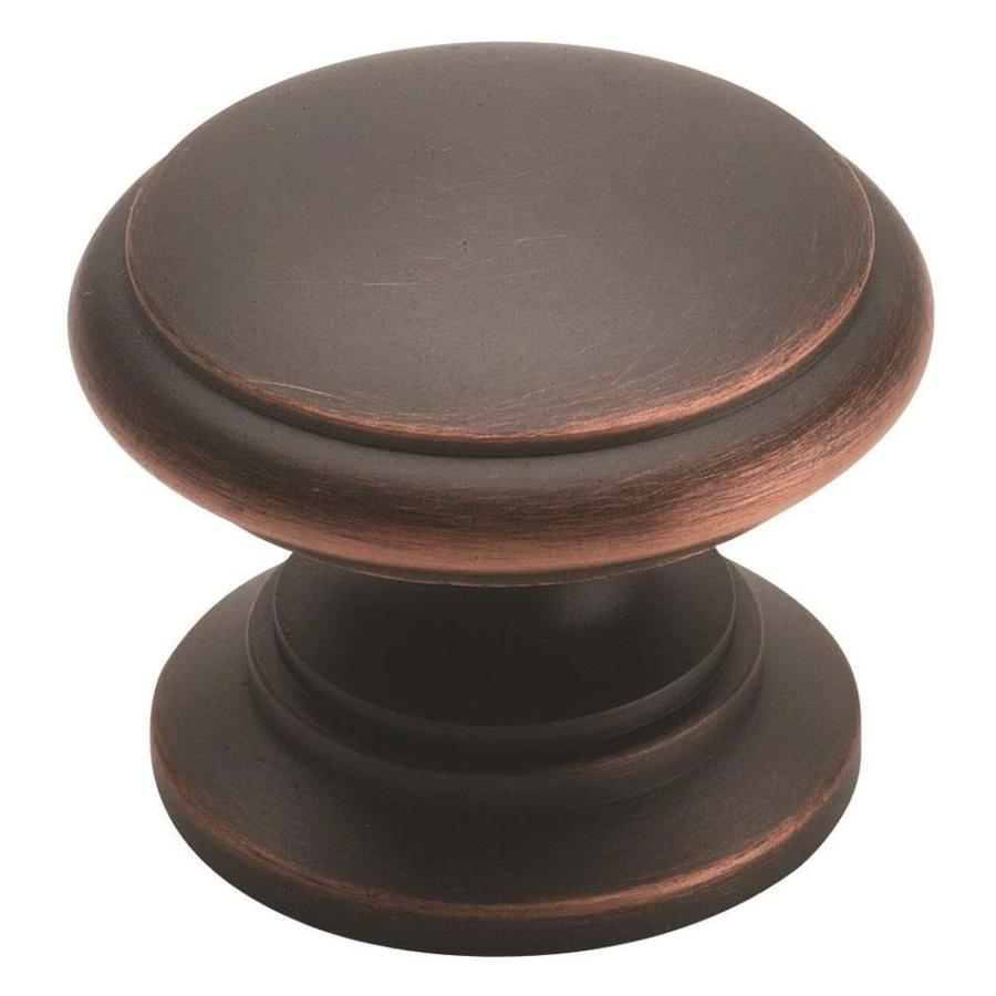 Amerock Hint Of Heritage Oil-Rubbed Bronze Round Cabinet Knob