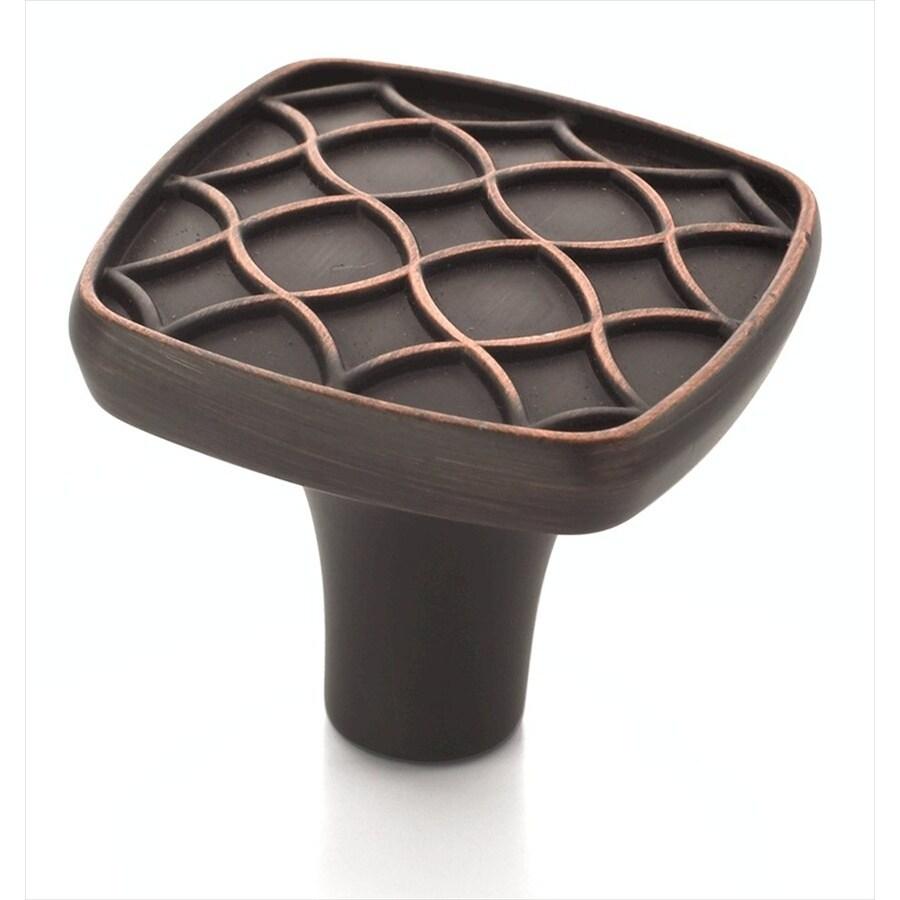 Amerock Marsden Oil-Rubbed Bronze Square Cabinet Knob