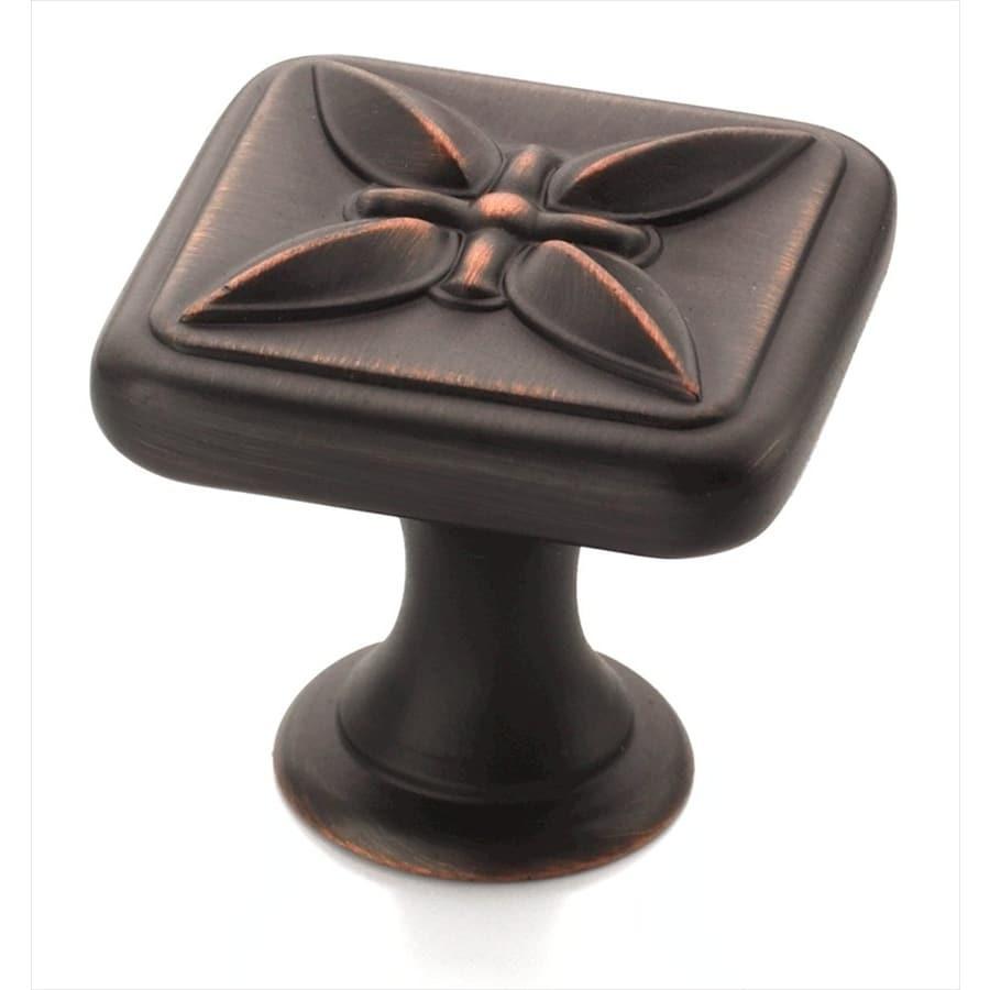 Amerock Sundara Oil-Rubbed Bronze Square Cabinet Knob