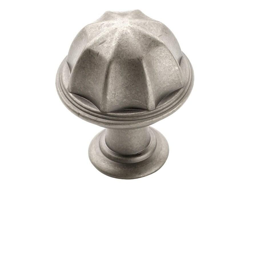 Amerock Eydon Weathered Nickel Mushroom Cabinet Knob