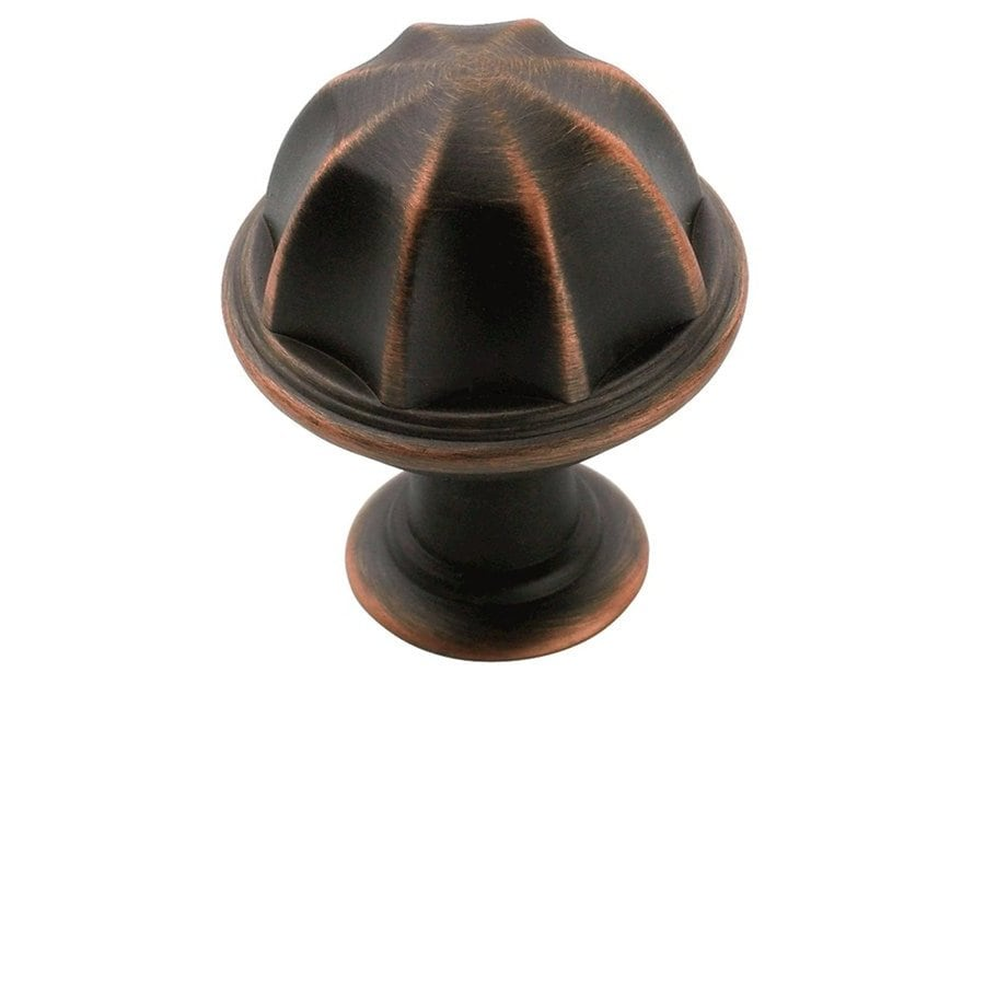 Amerock Eydon Oil Rubbed Bronze Mushroom Cabinet Knob At