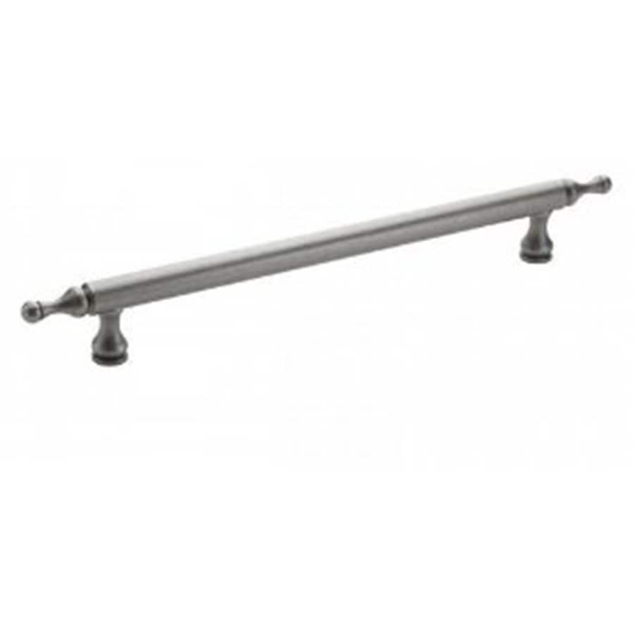 Amerock 13-in Center-To-Center Weathered Nickel Traditional Classics Bar Cabinet Pull