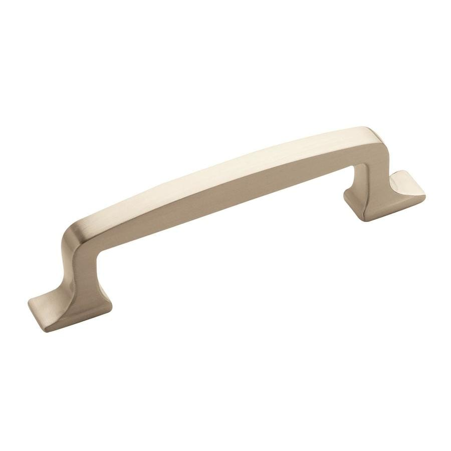 Amerock 96mm Center-to-Center Satin Nickel Westerly Bar Cabinet Pull