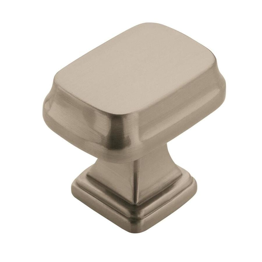 Amerock Revitalize Satin Nickel Square Cabinet Knob