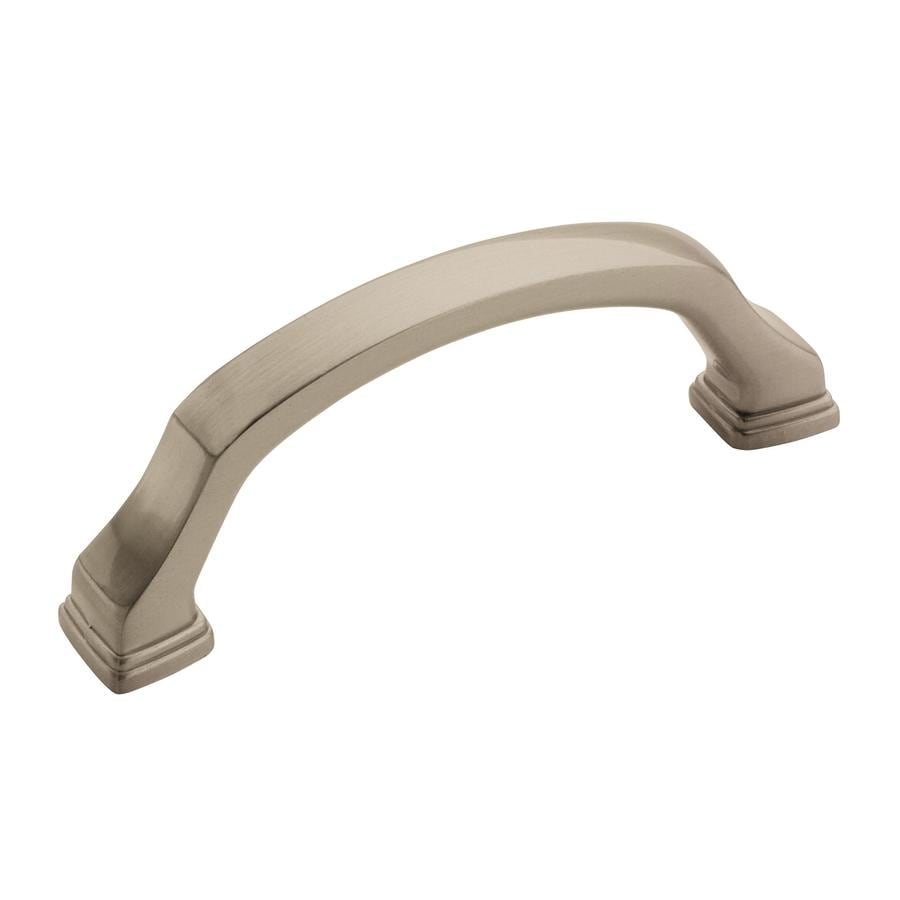 Amerock 3-in Center-to-Center Satin Nickel Revitalize Bar Cabinet Pull