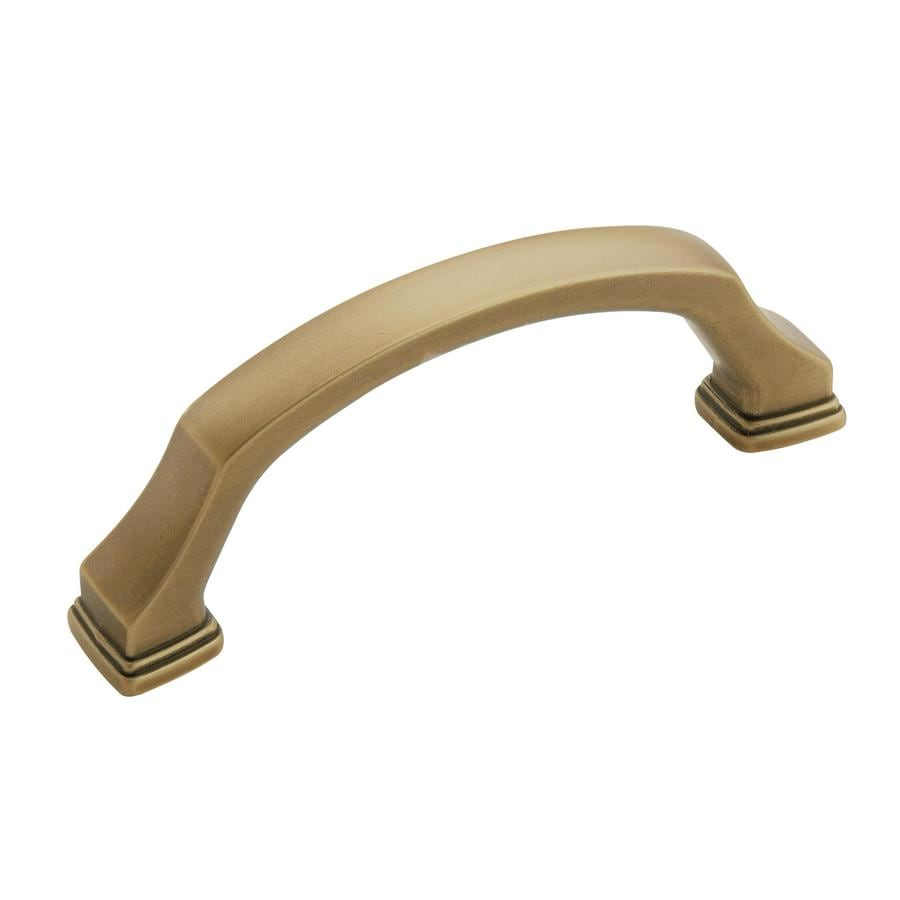 Amerock 3-in Center-To-Center Gilded Bronze Revitalize Bar Cabinet Pull