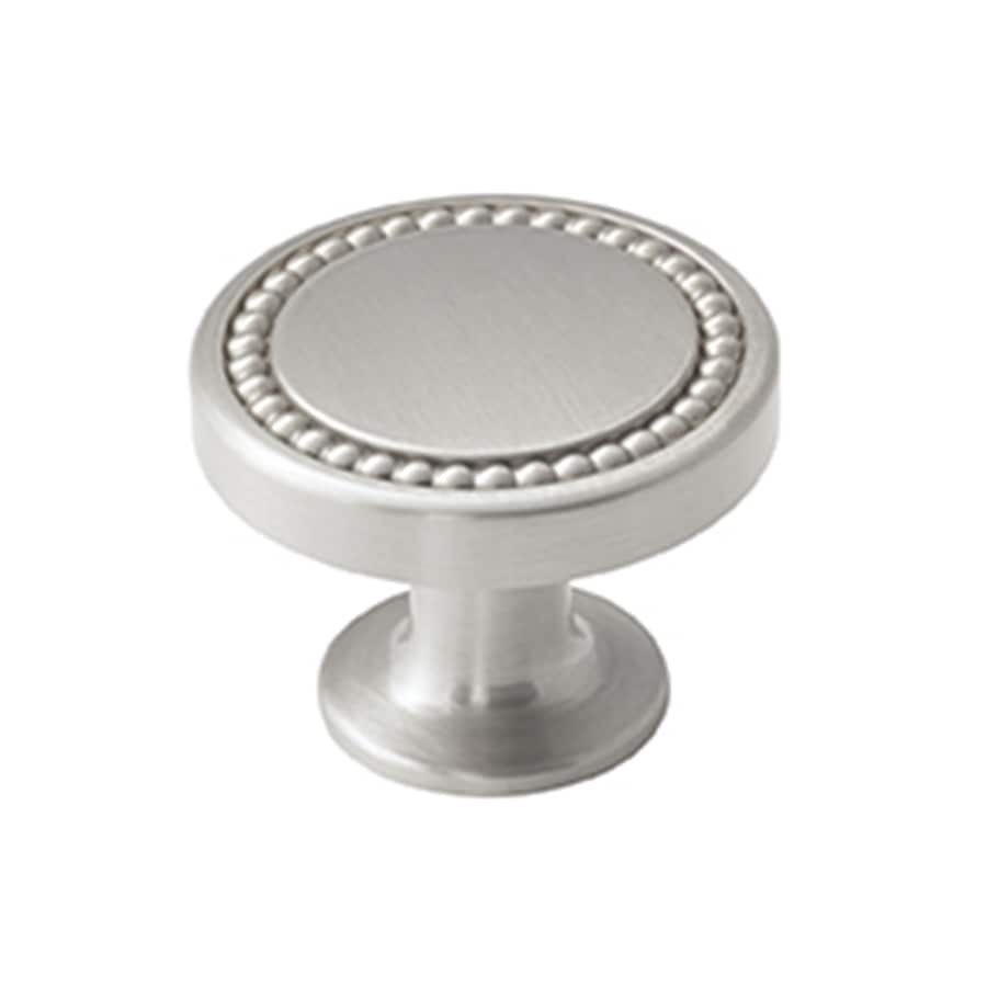 Amerock 25-Pack Carolyne Polished Nickel Round Cabinet Knobs