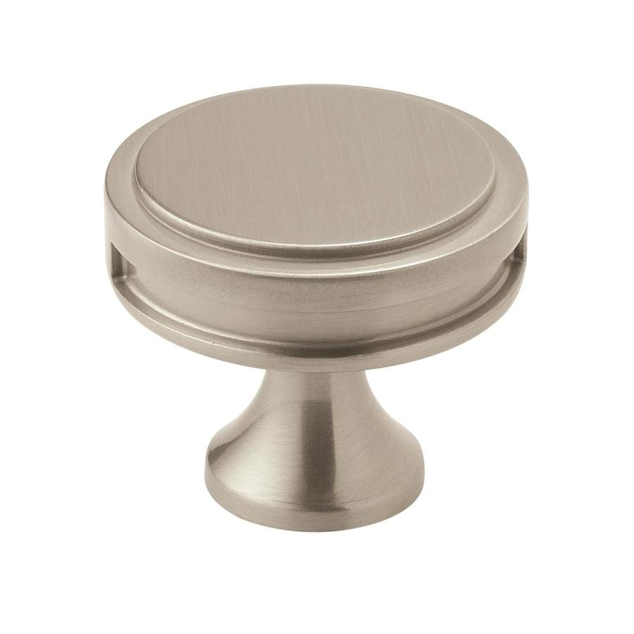 Amerock 25-Pack Oberon Satin Nickel Round Cabinet Knobs