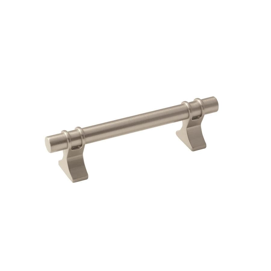 Amerock 25-Pack 3-3/4-in Center-to-Center Satin Nickel Davenport Bar Cabinet Pulls